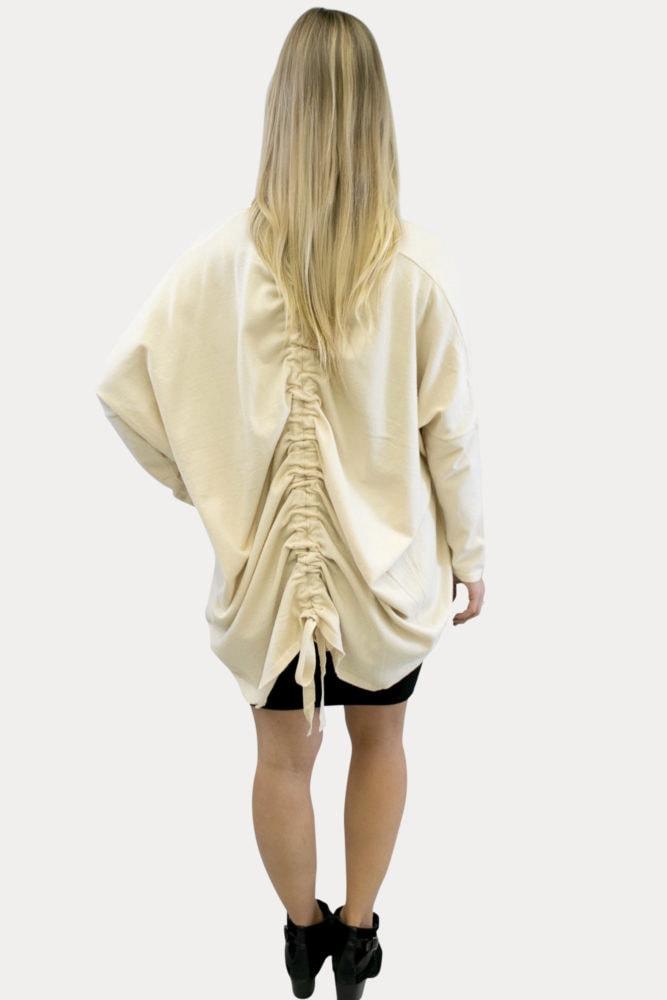 cream maternity kimono