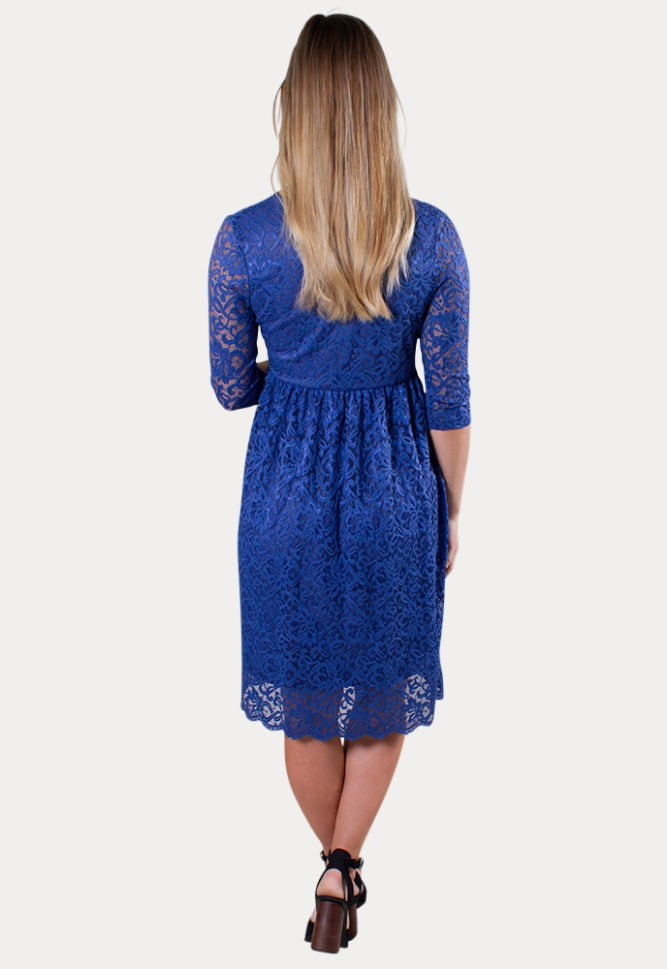 lace baby shower dress