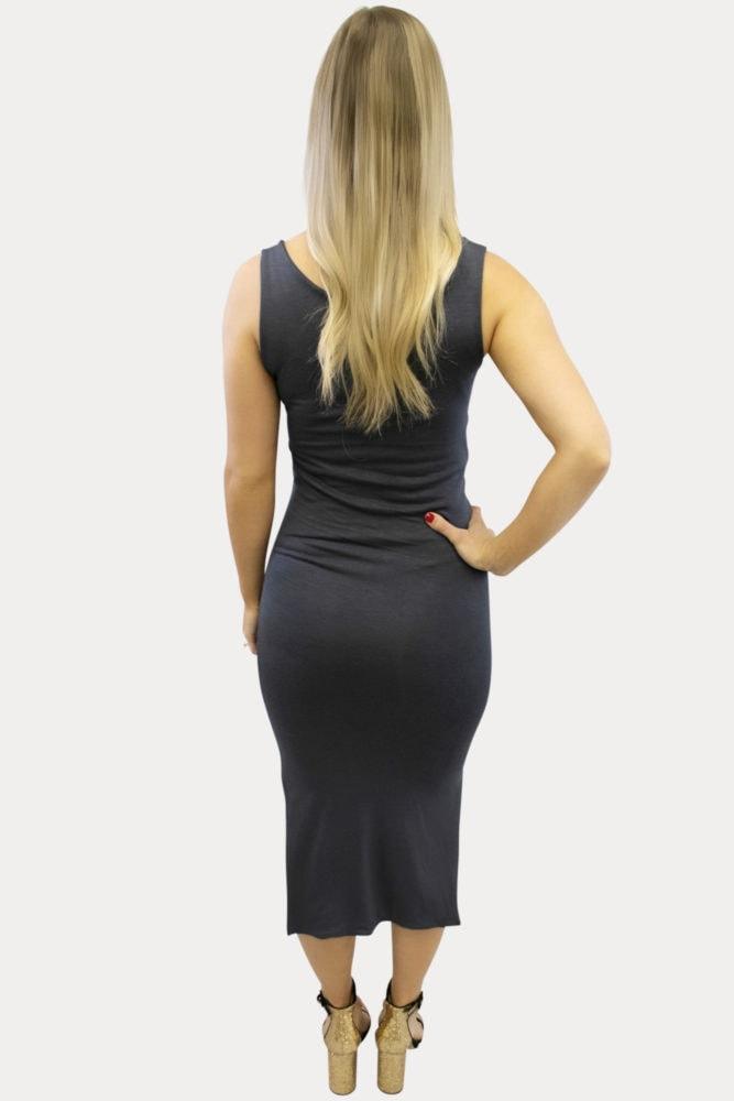 thin strap maternity dress
