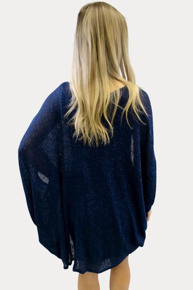 lightweight navy maternity sweater