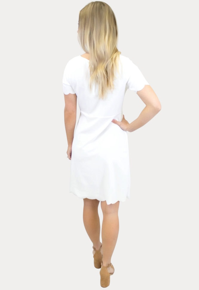 maternity dress with short sleeves