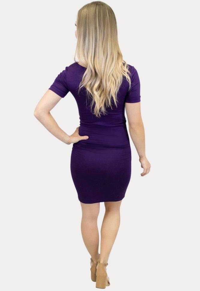 perfect fitting maternity dress