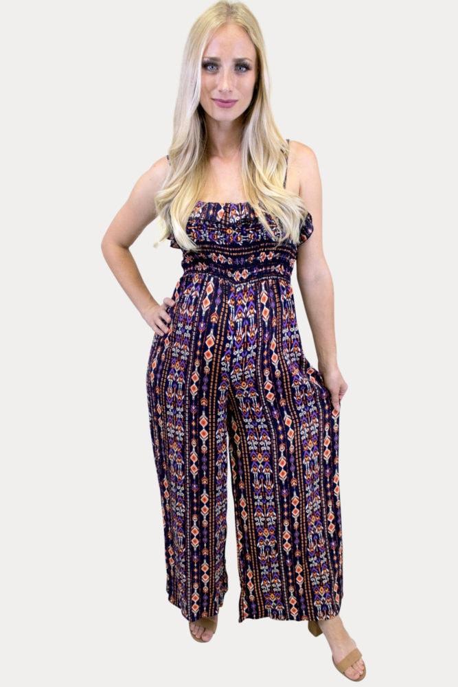 boho maternity jumpsuit