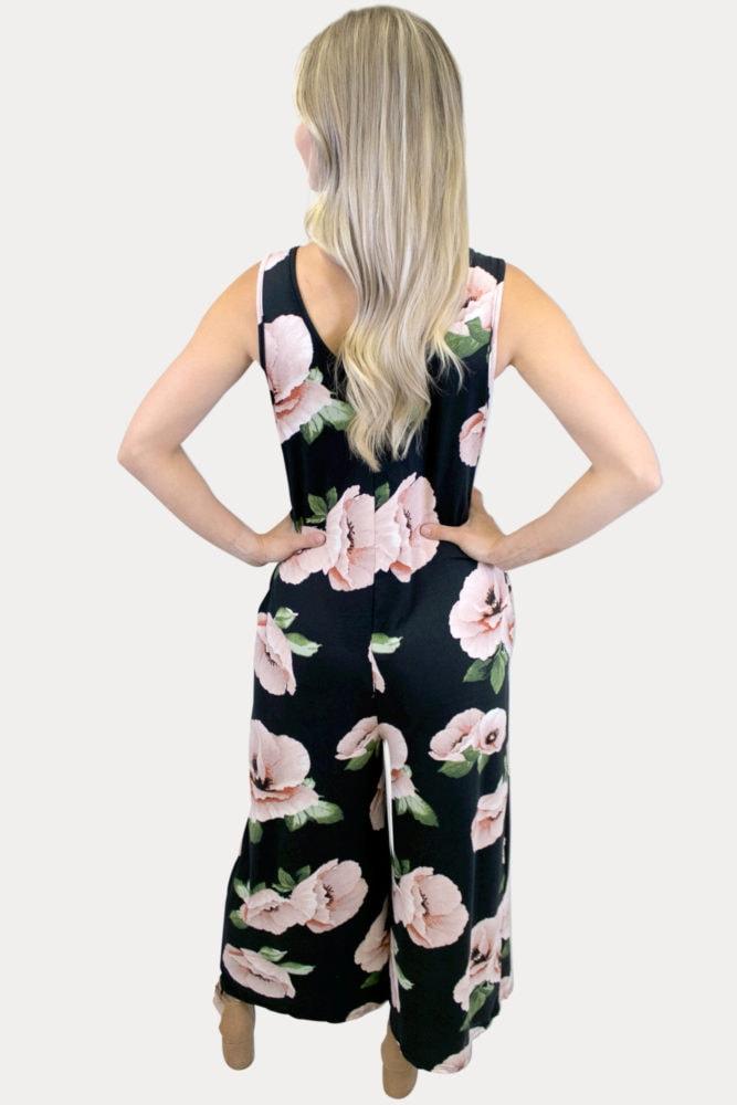 womens floral jumper