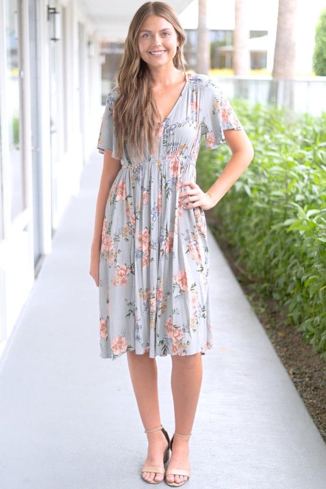women's floral sundress