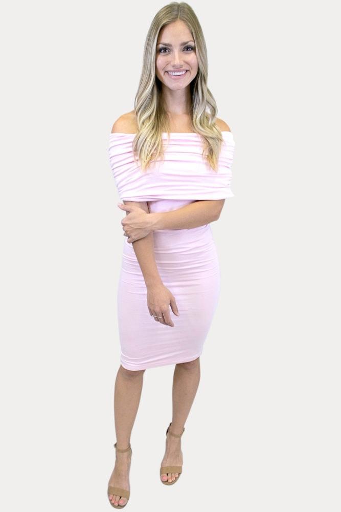 fold over dress