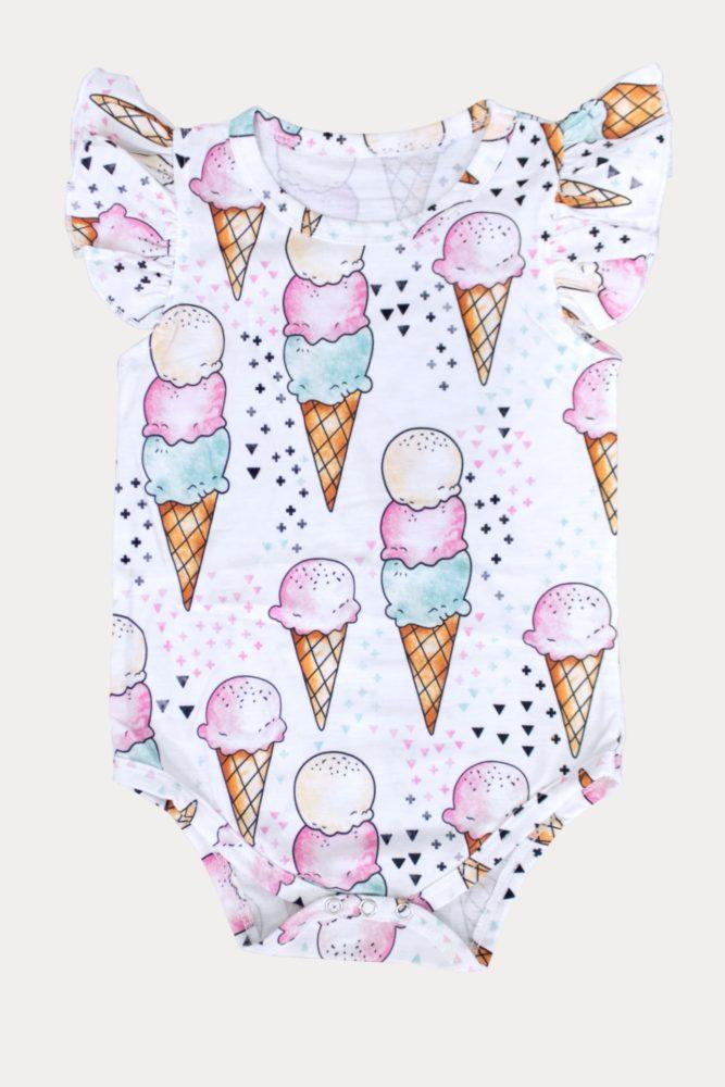 ice cream cone onesie