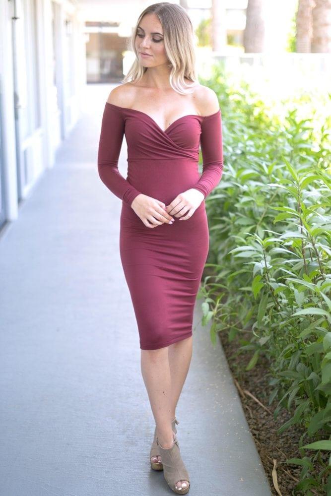 strapless sweetheart bodycon dress