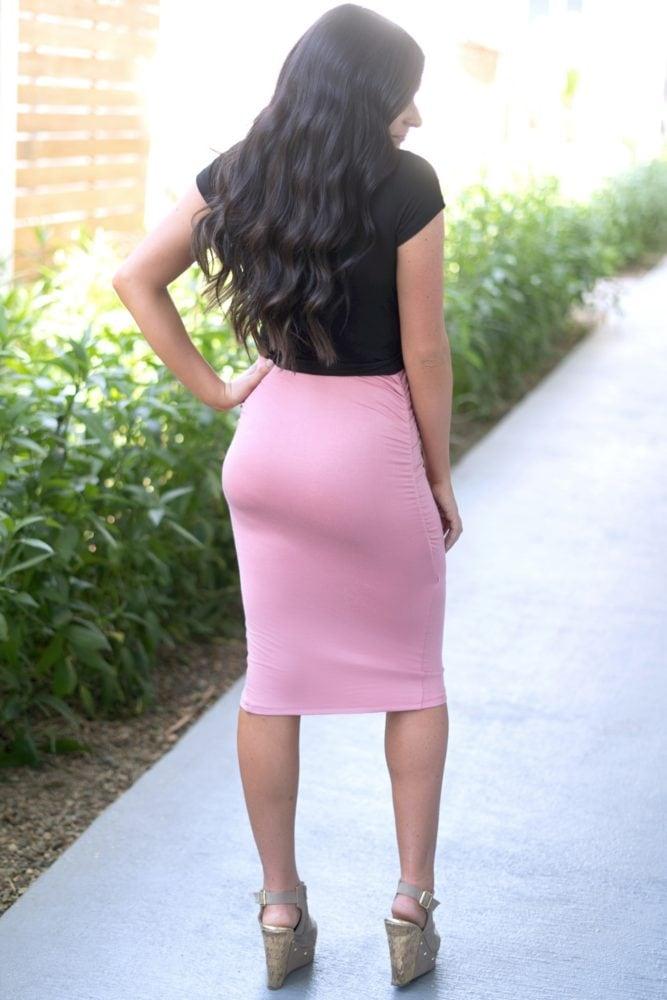 skirt crop set