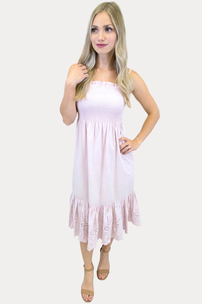 embroidered bottom dress