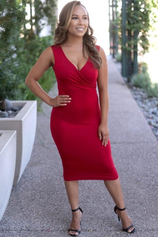 sweetheart bodycon dress