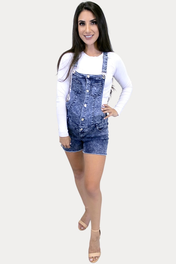 acid wash pregnancy overalls