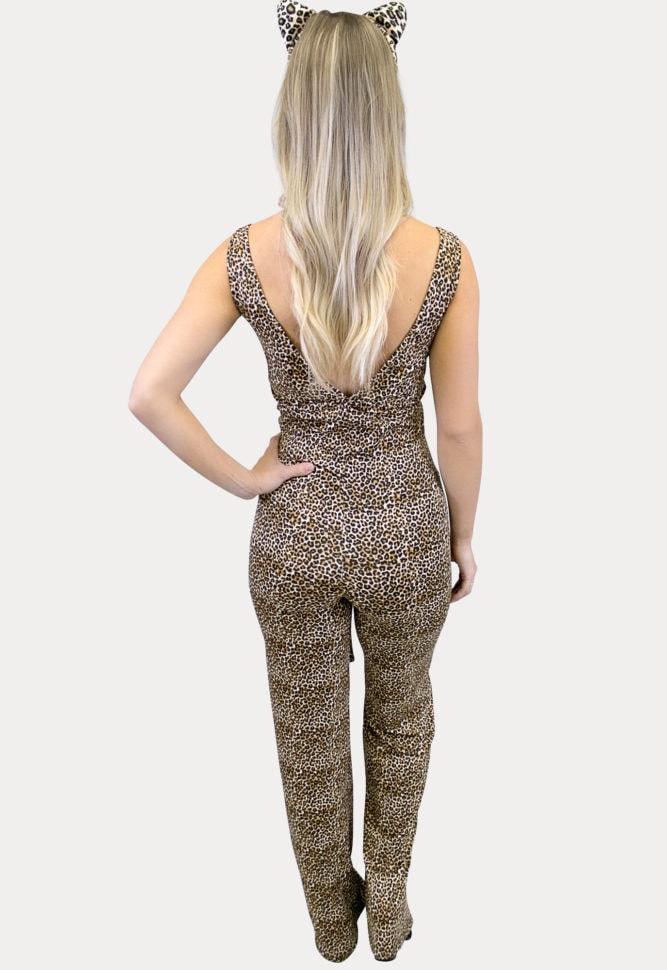 leopard maternity costume