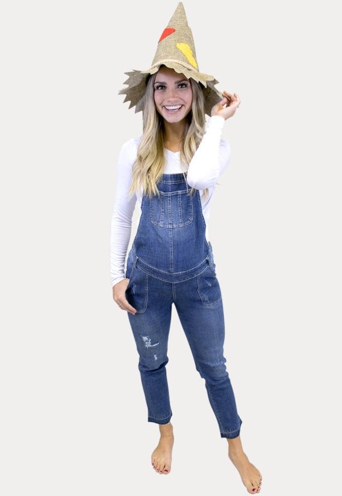 maternity scarecrow costume