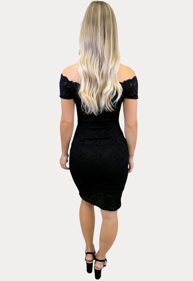short sleeve maternity lace dress