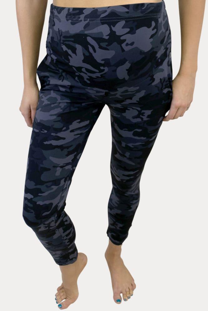 camo maternity lounge pants