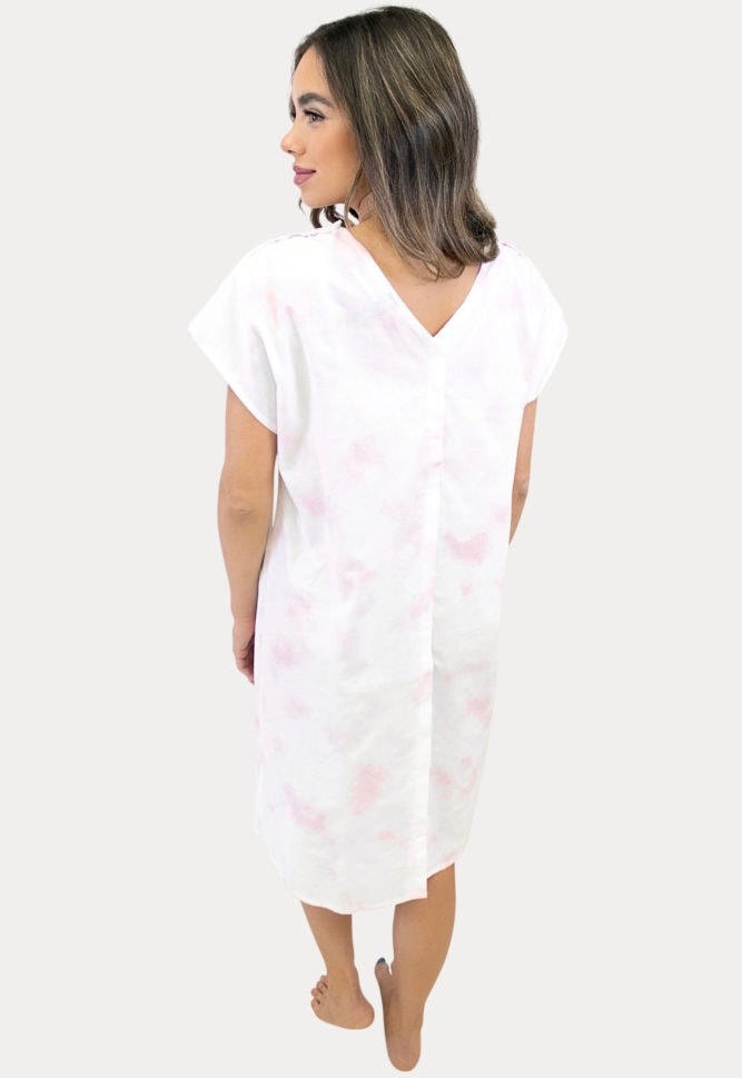 maternity delivery gown