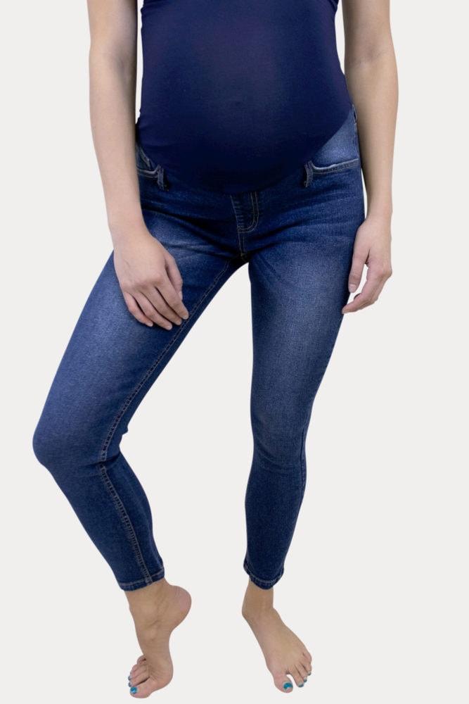 dark wash pregnancy jeans