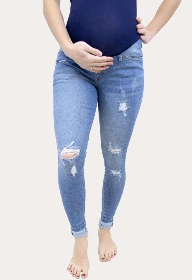 Ultra-Stretch Maternity Jeans
