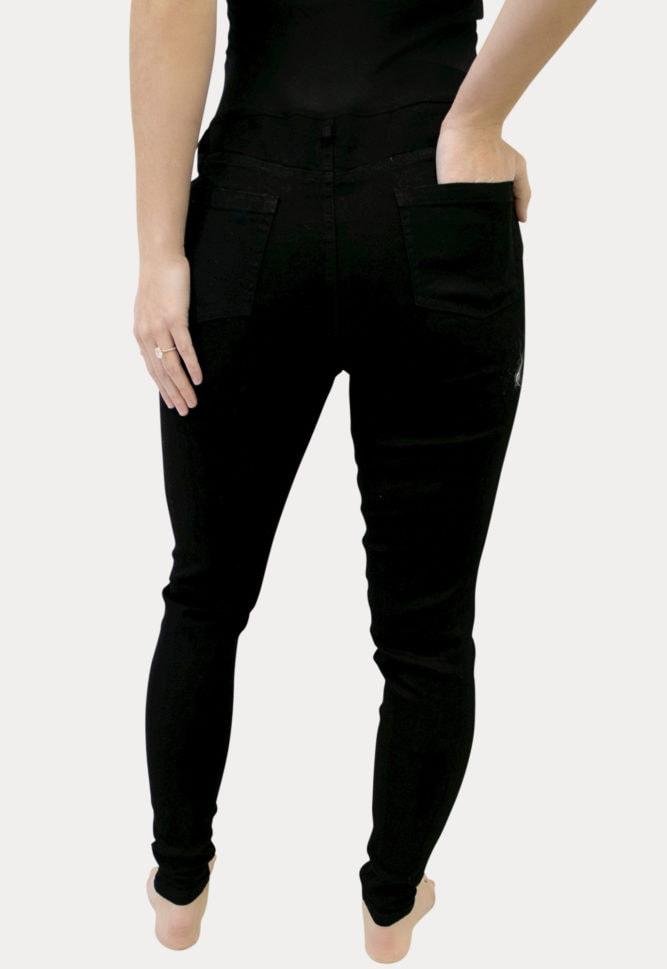 Black Maternity Jeans
