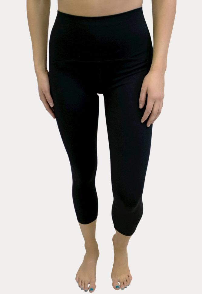 high waisted postpartum leggings