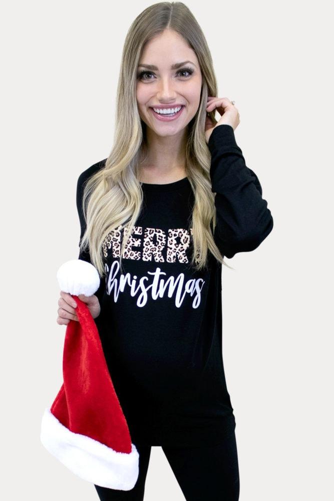 festive maternity tunic