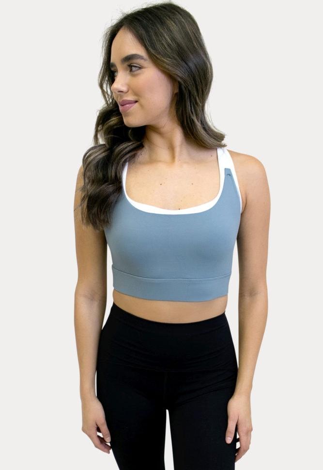 breastfeeding supportive sports bra