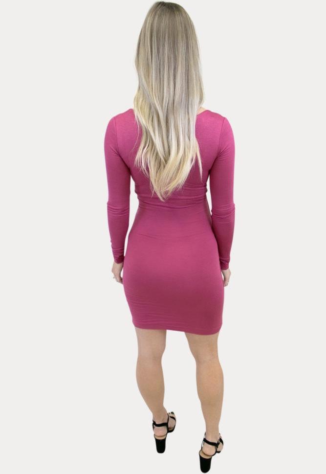 sweetheart bodycon pregnancy dress