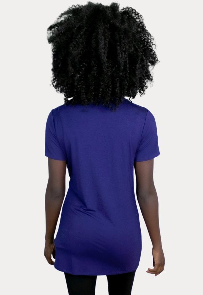 royal blue maternity top