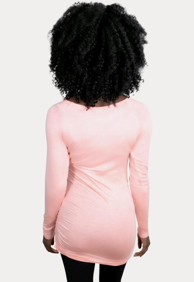 basic long sleeve maternity top