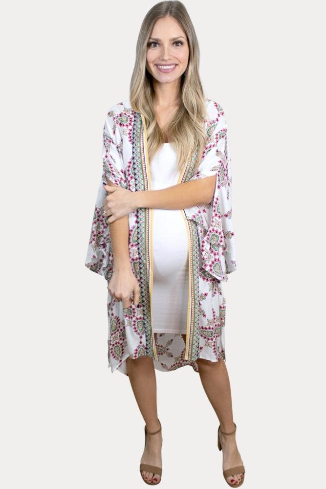 fun maternity kimono