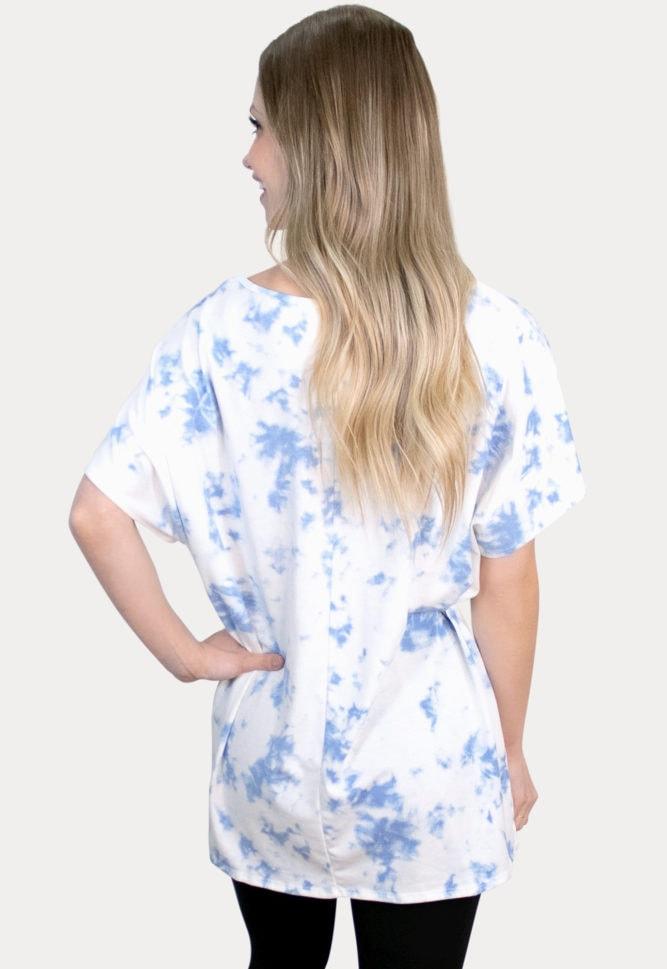 tie dye pregnancy top