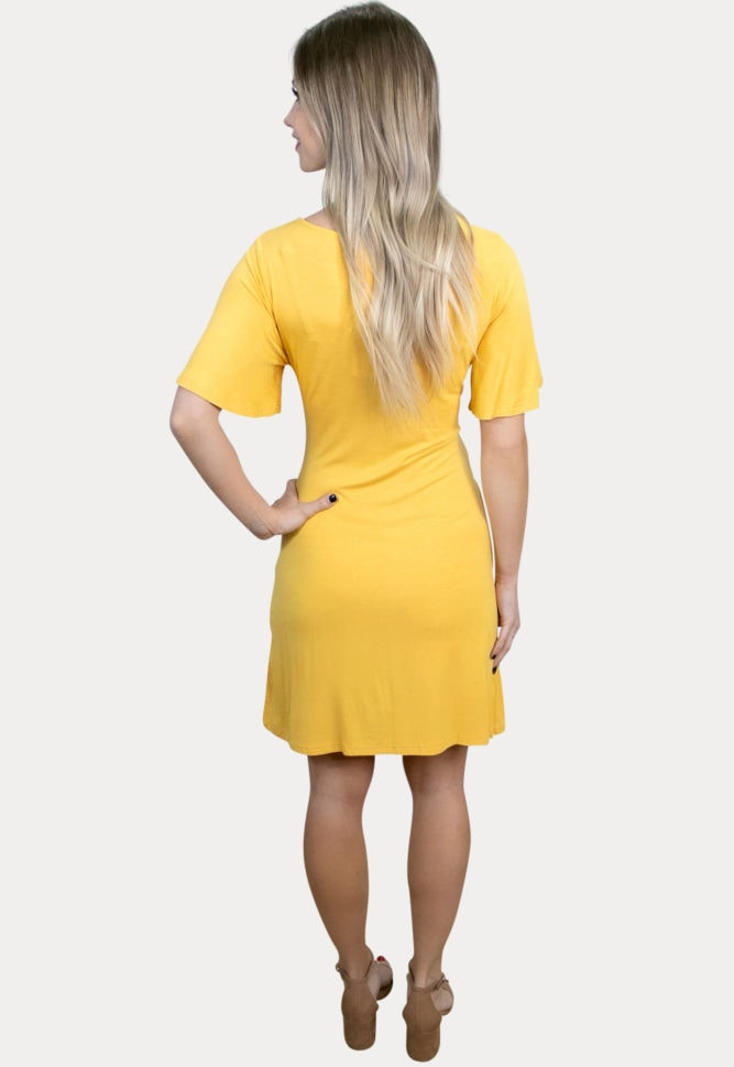 pregnancy dress with tie front