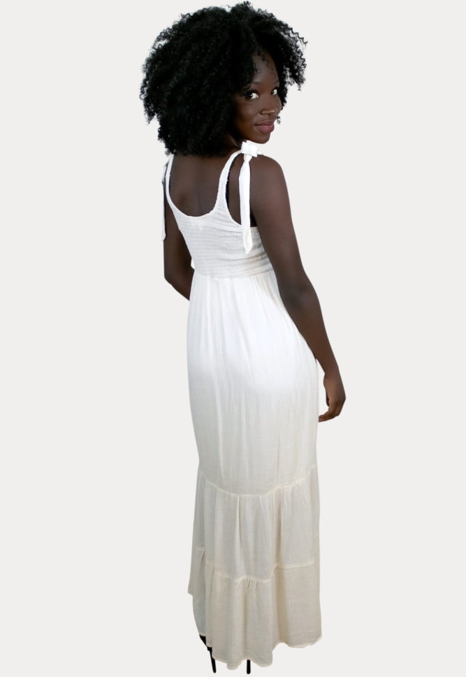 smock top pregnancy dress