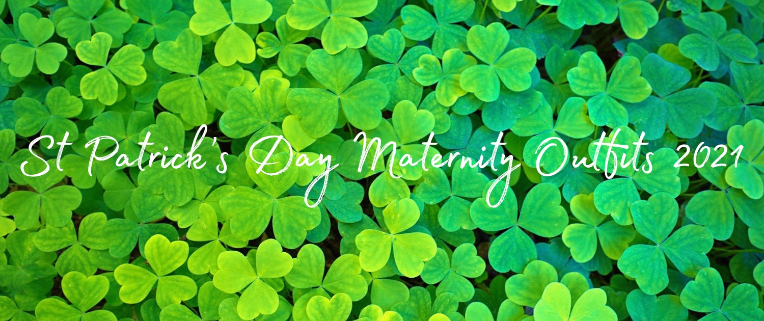 St Patrick's Day Maternity Outfits