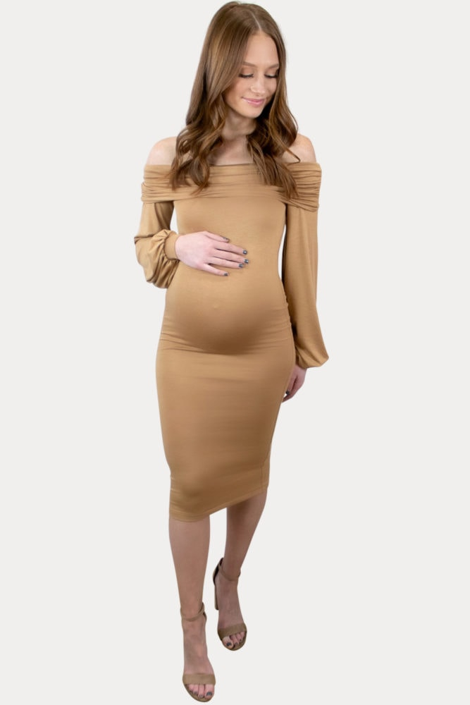sophisticated pregnancy dress
