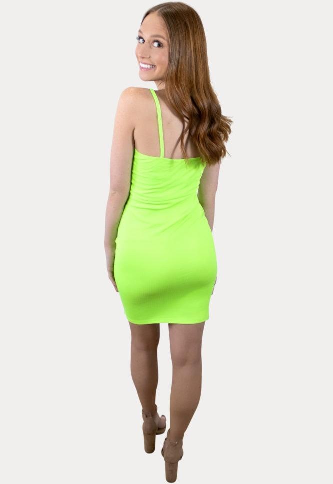 twist front pregnancy dress