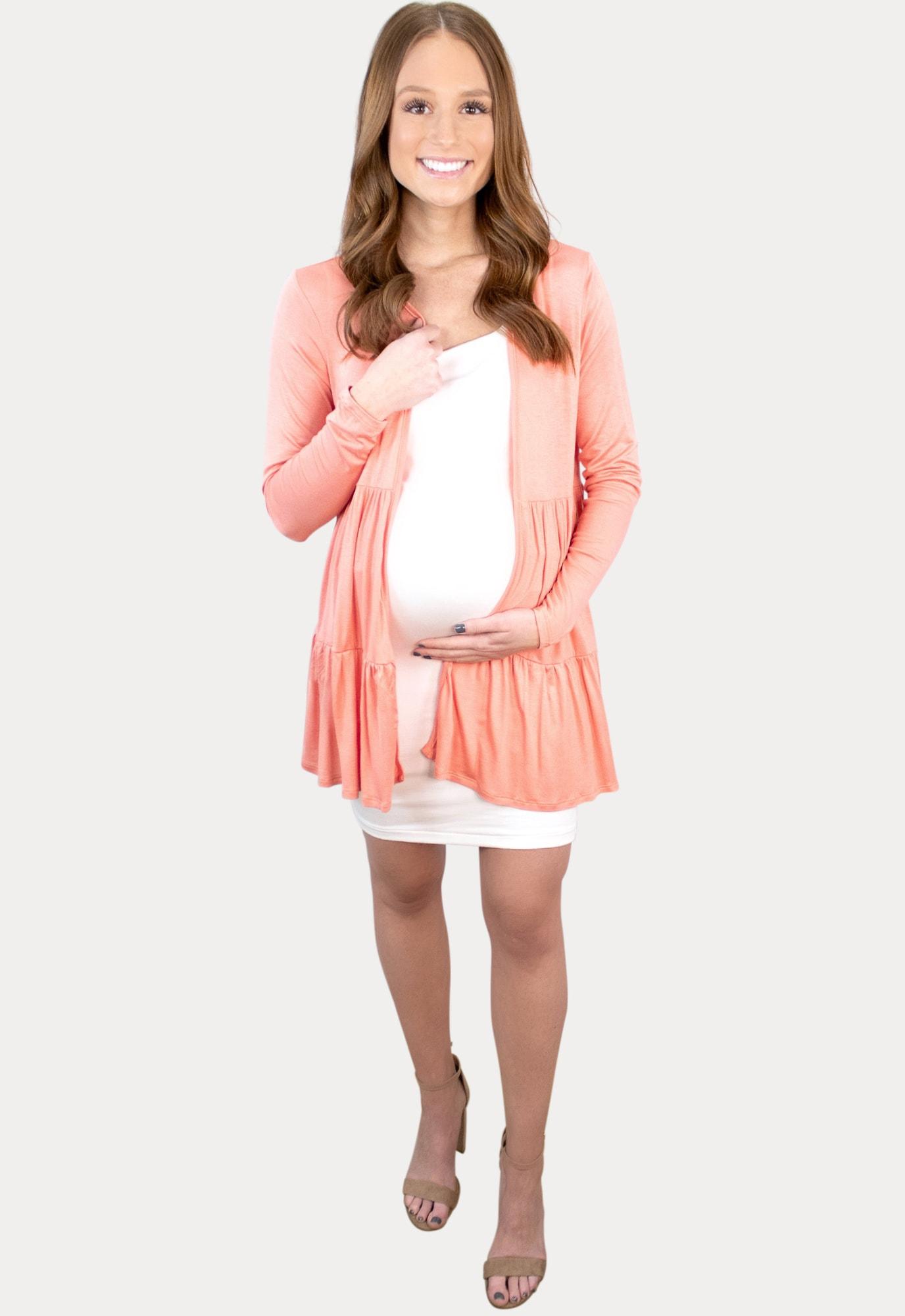 babydoll maternity kimono