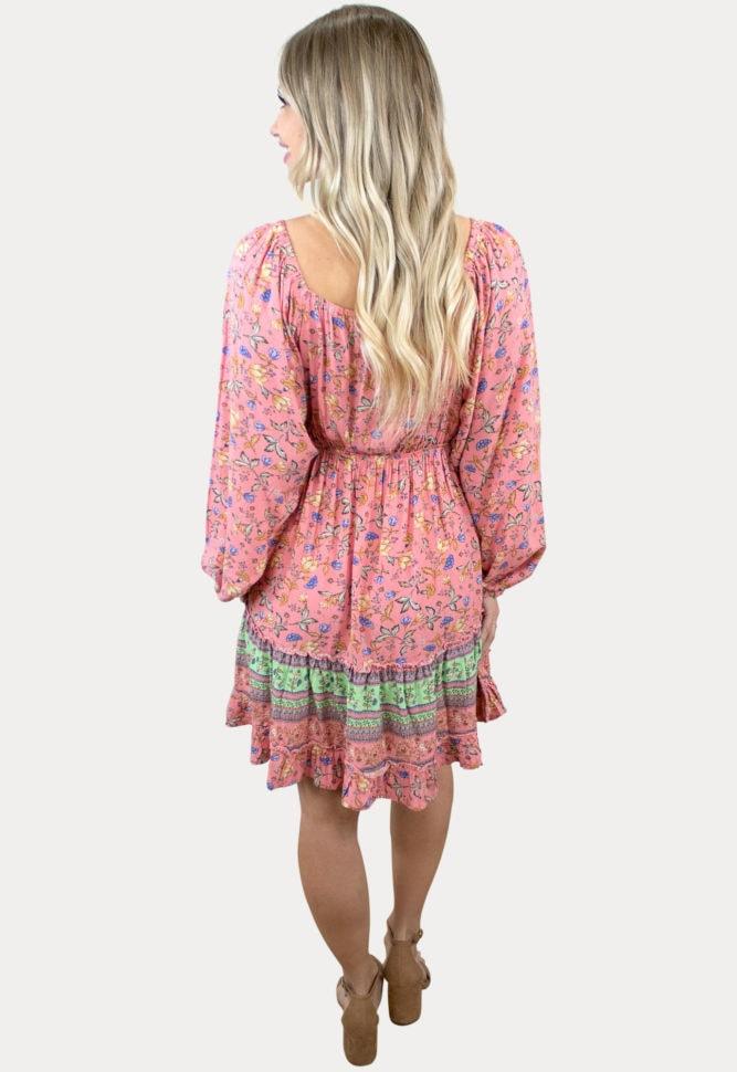 babydoll floral pregnancy dress