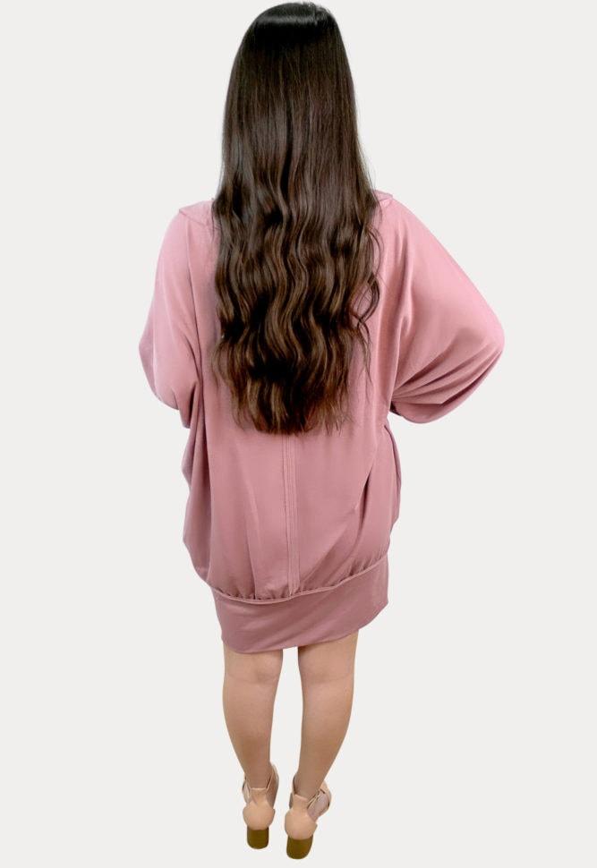 oversized maternity t-shirt dress