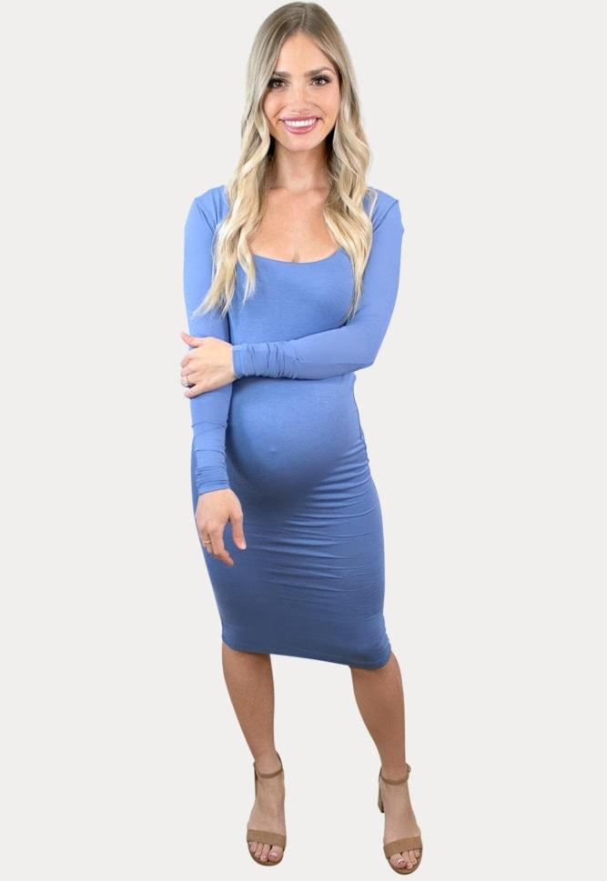 classic pregnancy dress
