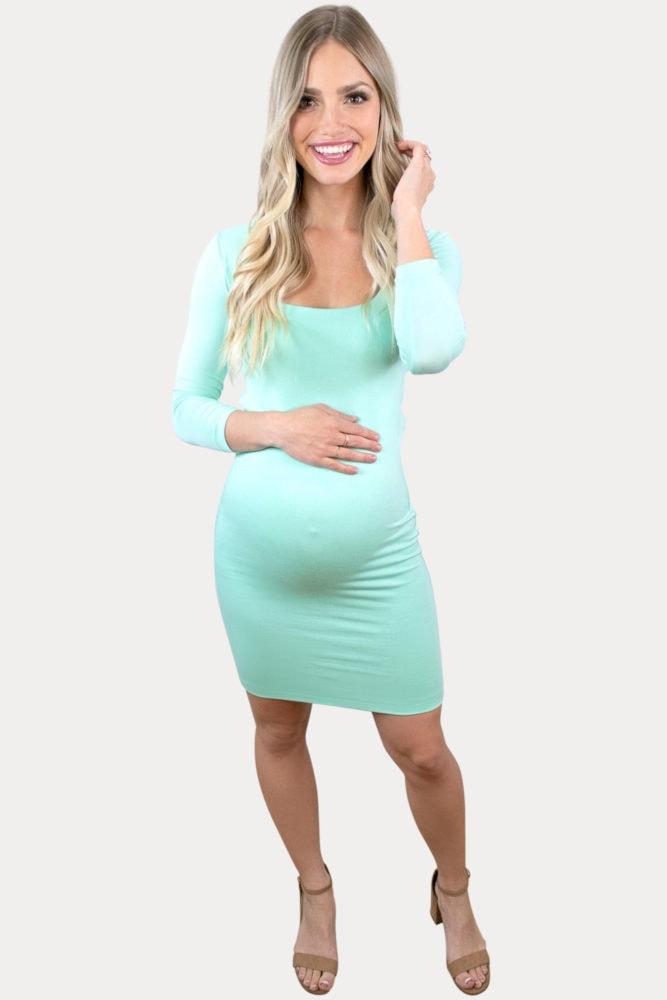 mini pregnancy dress
