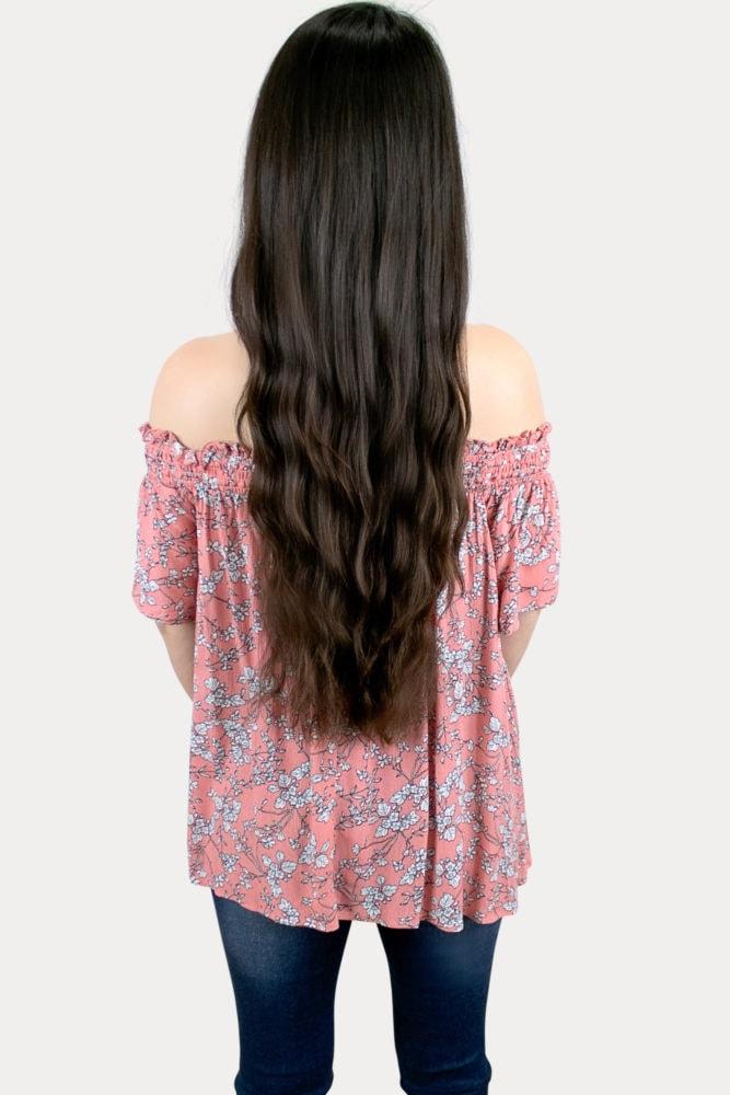 floral pregnancy top