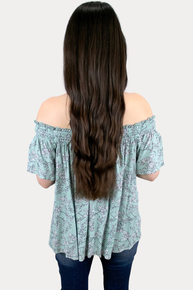 short sleeve floral pregnancy top