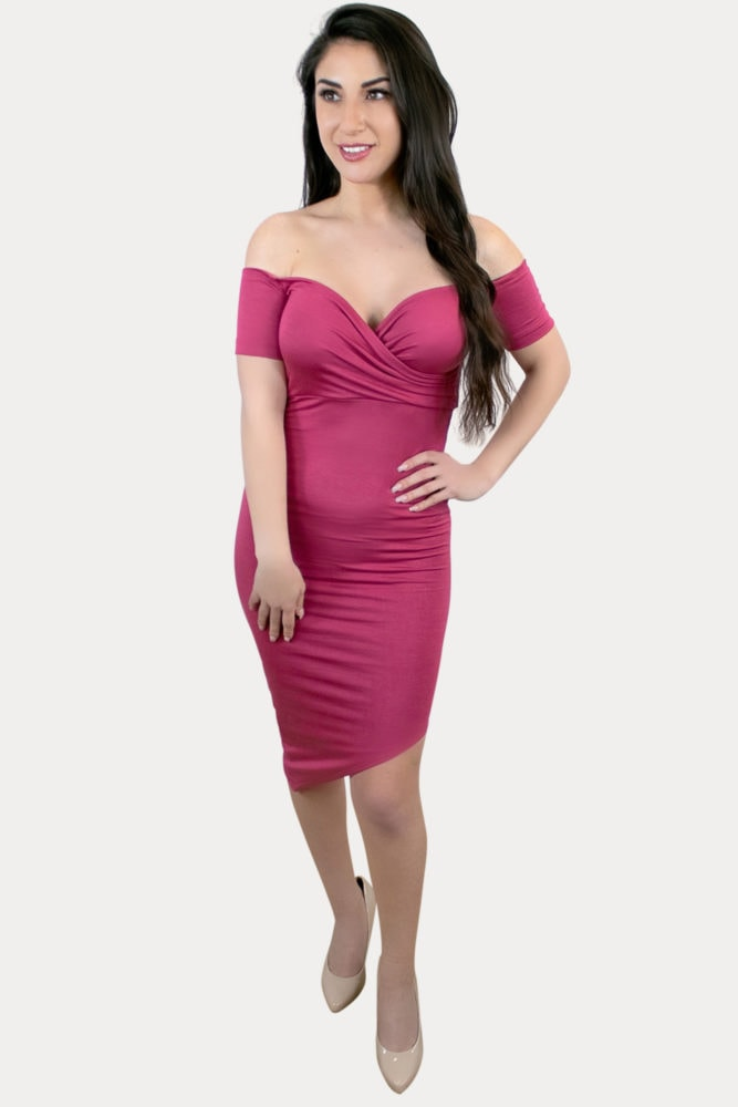 short sleeve sweetheart dress