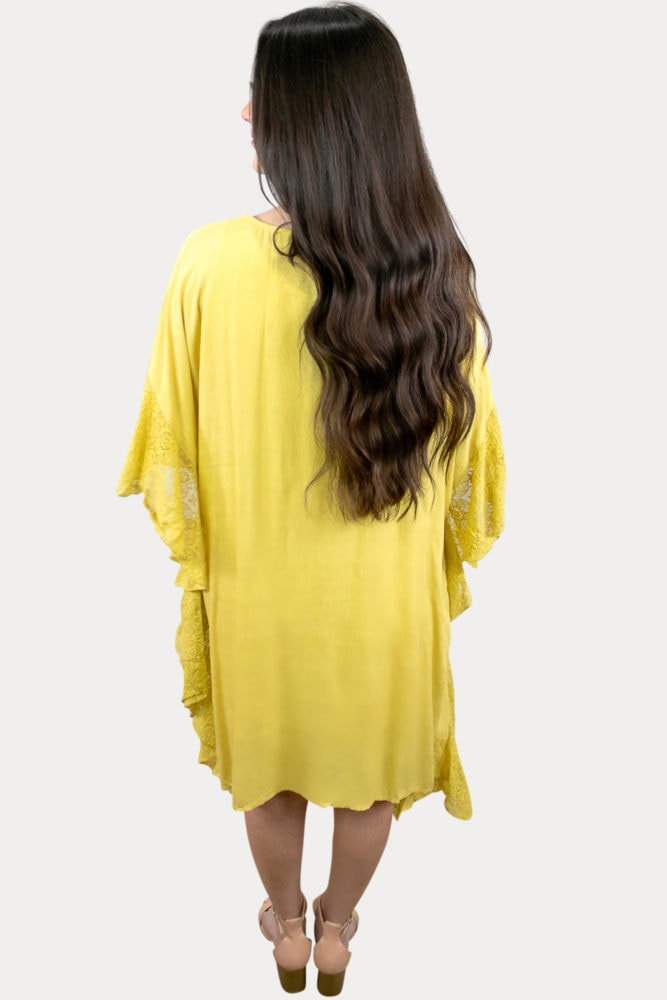 yellow pregnancy cardigan