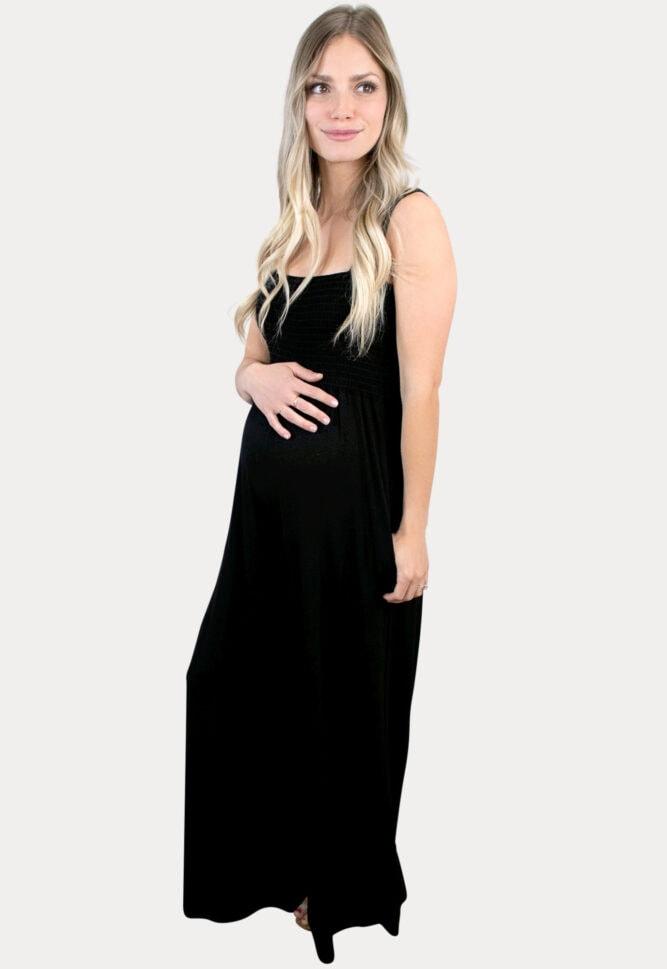 black pregnancy jumper