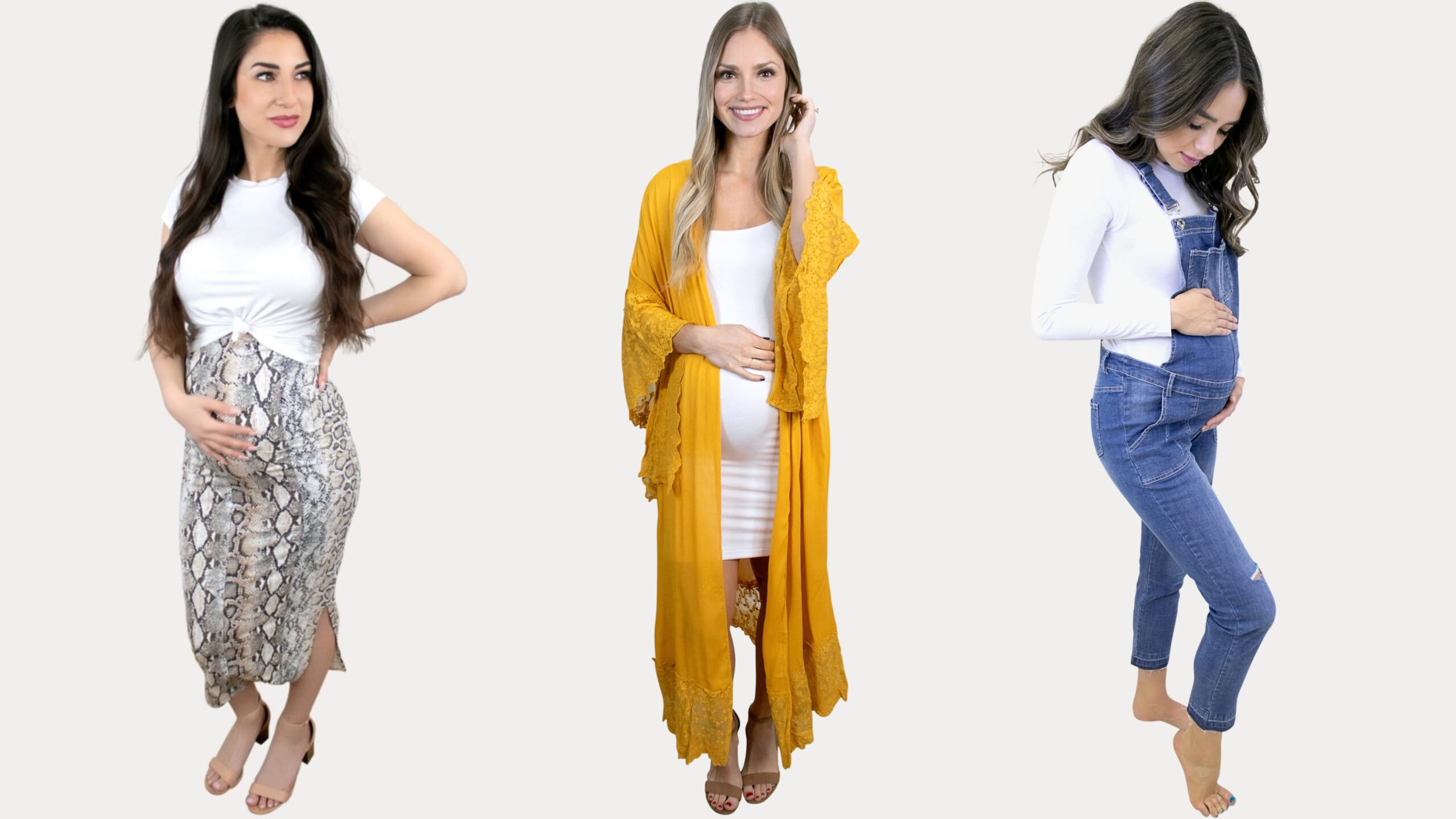 Summer to Fall Maternity Transition Styles