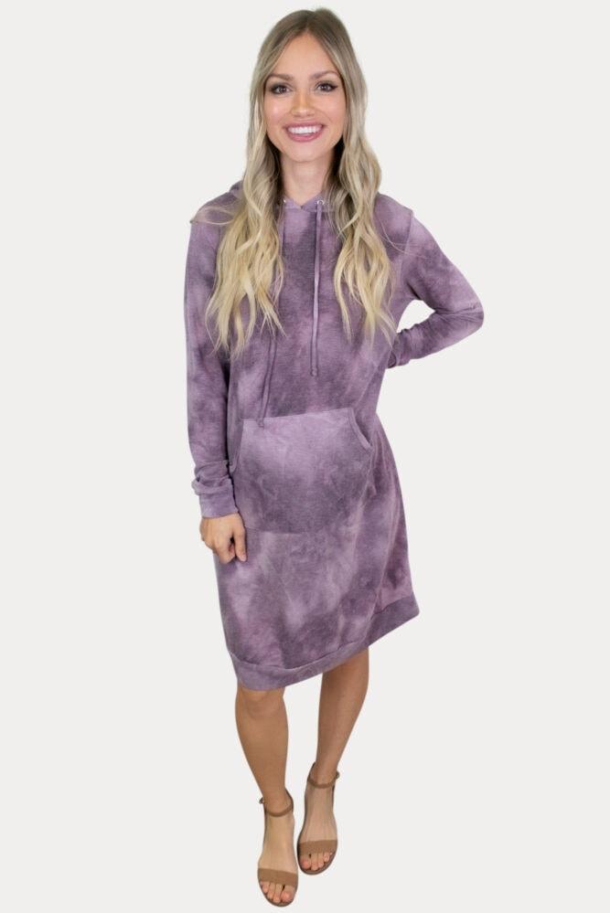 hoodie pregnancy dress