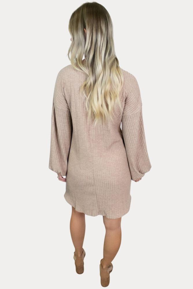 knit maternity dress